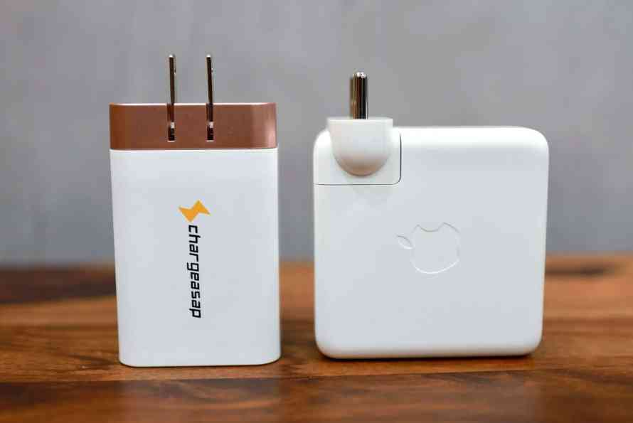 Omega 200W charger vs MacBook Pro charger