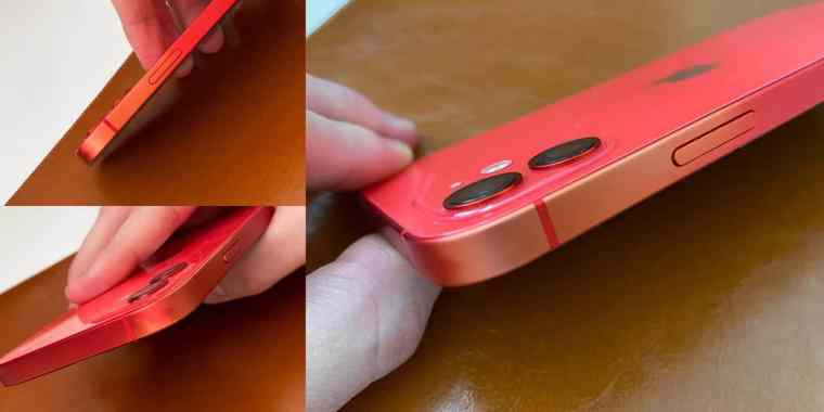 iPhone 12 red discolouration