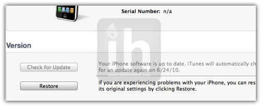 Jailbreak iOS 4.1 with PwnageTool 4.1 [Custom Firmware