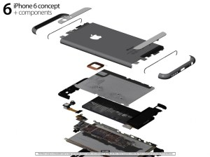 Beautiful iPhone 6 concept based on leaked parts, mockups and rumors  iPhoneHeat