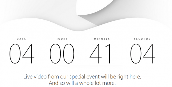 Apple to live stream iPhone 6 event on September 9