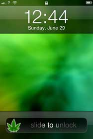 cannabis-sliders for iphone