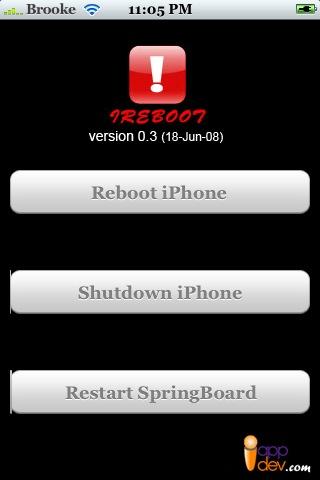 iReboot iPhone