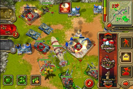 Command & Conquer- Red Alert iPhone screenshot 3