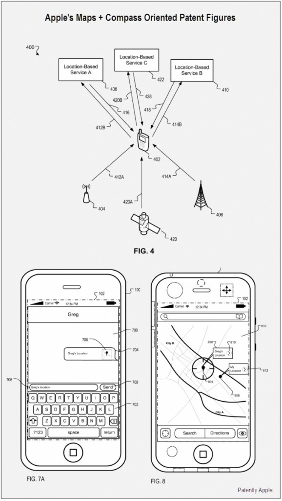Apple Latitude Service