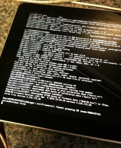 Verbose iPads look cool
