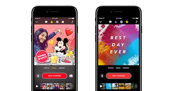 Apple Clips iOS app