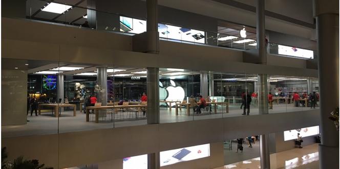 Apple's third floor