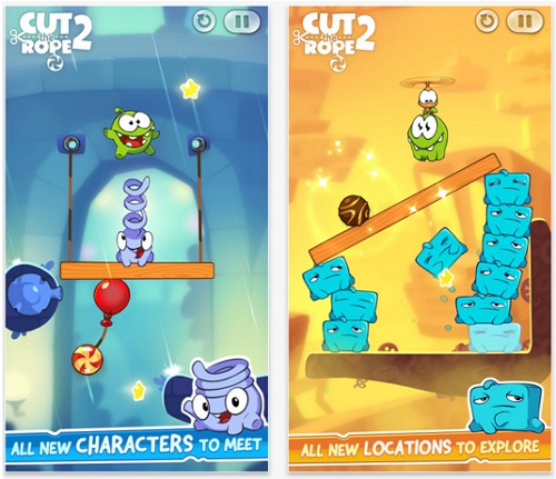 Cut the rope game 1
