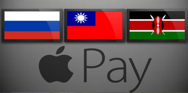 Apple Pay - Russia, Taiwan, Kenya