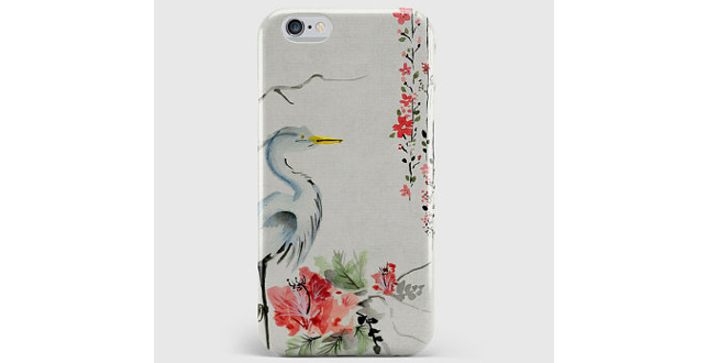 Vintage floral iPhone