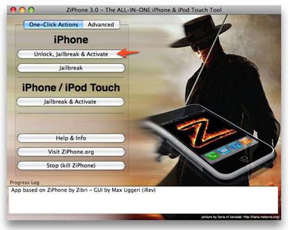 ziphone 3.0 unlock iphone