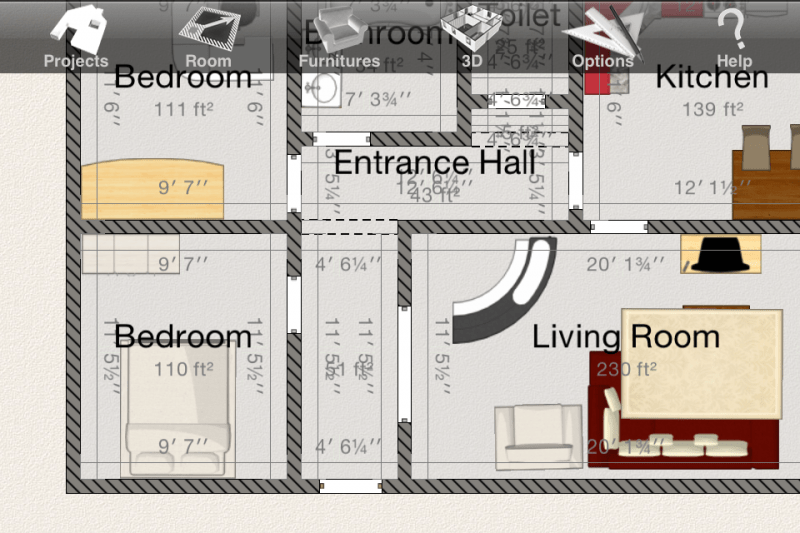 Home Design 3D For IOS Plan Your Next Crib! IPhoneLife Com