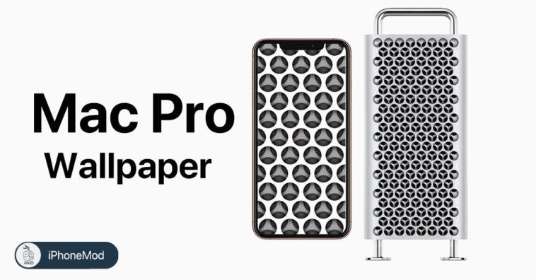 แจกภาพพื้นหลัง (Wallpaper) รูระบายอากาศของ Mac Pro 2019