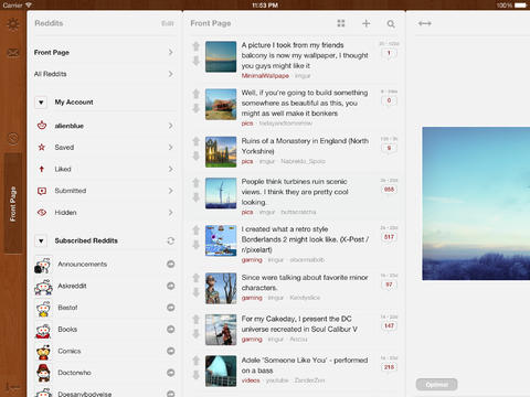 5 Awesome Reddit Clients For Ipad