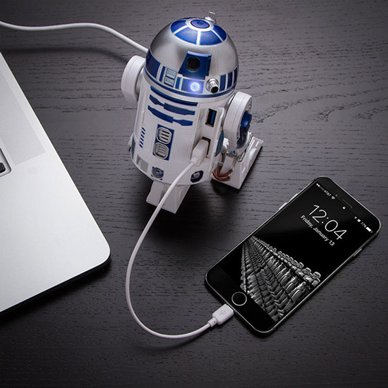 R2-D2 USB 3.0 Charging Hub for Your Gadgets