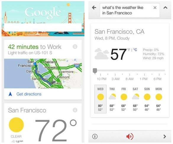 Google Search para iOS é atualizado com o Google Now
