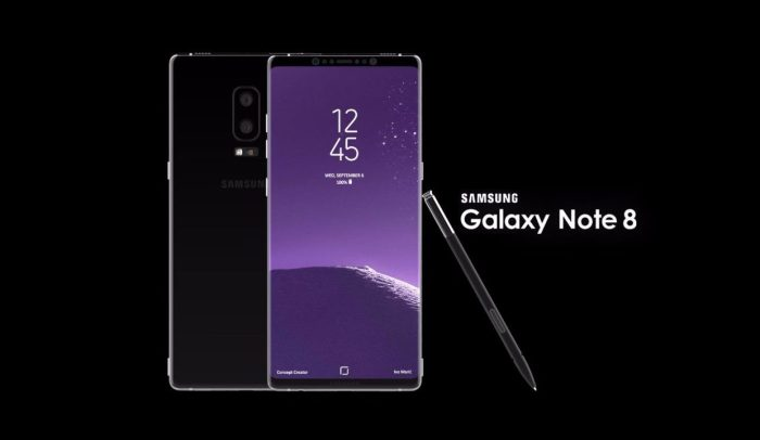Samsung случайно показала Galaxy Note8