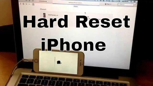 How To Factory Reset iPhone 28s - World of iPhone