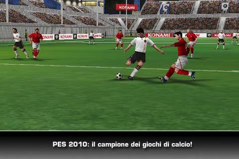 Pro evolution soccer 2010 iphone