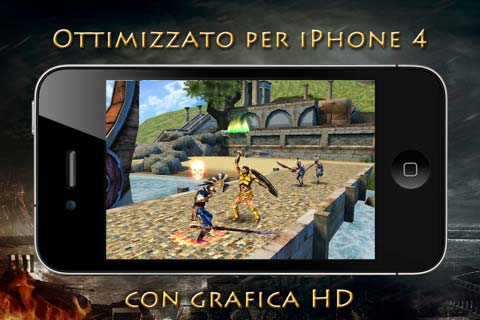 Hero of sparta II iphone 4