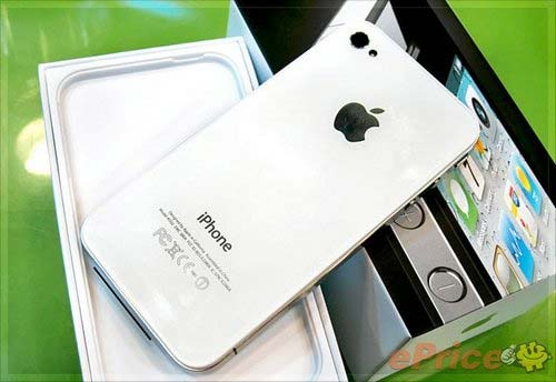Iphone 4 bianco hong kong foto 3