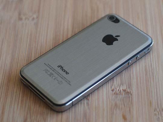 Iphone 4 argentato