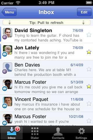 Google voice app iphone 4