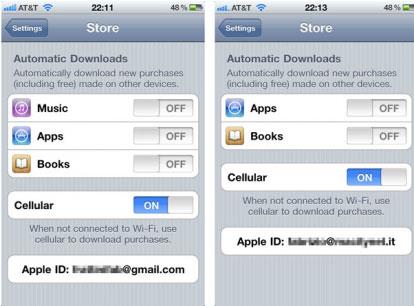 iCloud: sincronizzazione disponibile solo per America