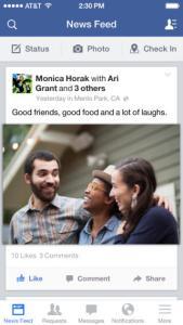 Consigli su come usare l'app di Facebook per l'iPhone