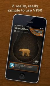 Come modificare l'indirizzo IP dell'iPhone tramite TunnelBear