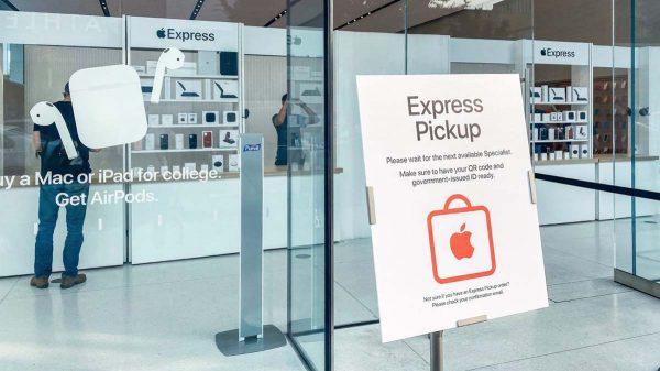 apple express tests de retrait rapide