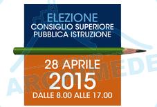 Elezione Consiglio Superiore della Pubblica Istruzione