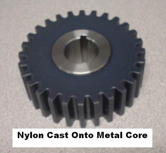 Nylon MD - Polyamide Plastic Material On Metal - Steel Core