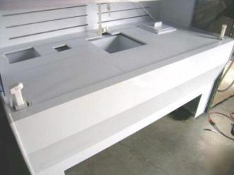 Welded Polypropylene sheet - Electronic manufacturers wet bench