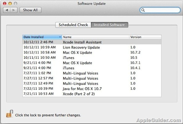 check-installed-software