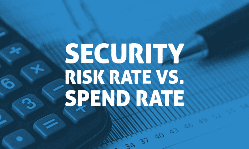 Security Risk Rate vs. Spend Rate 2