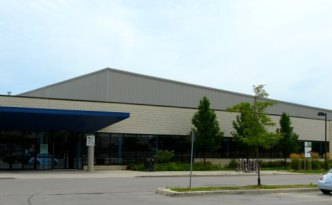 West Doors of Earl Nichols Community Centre in London, Ontario
