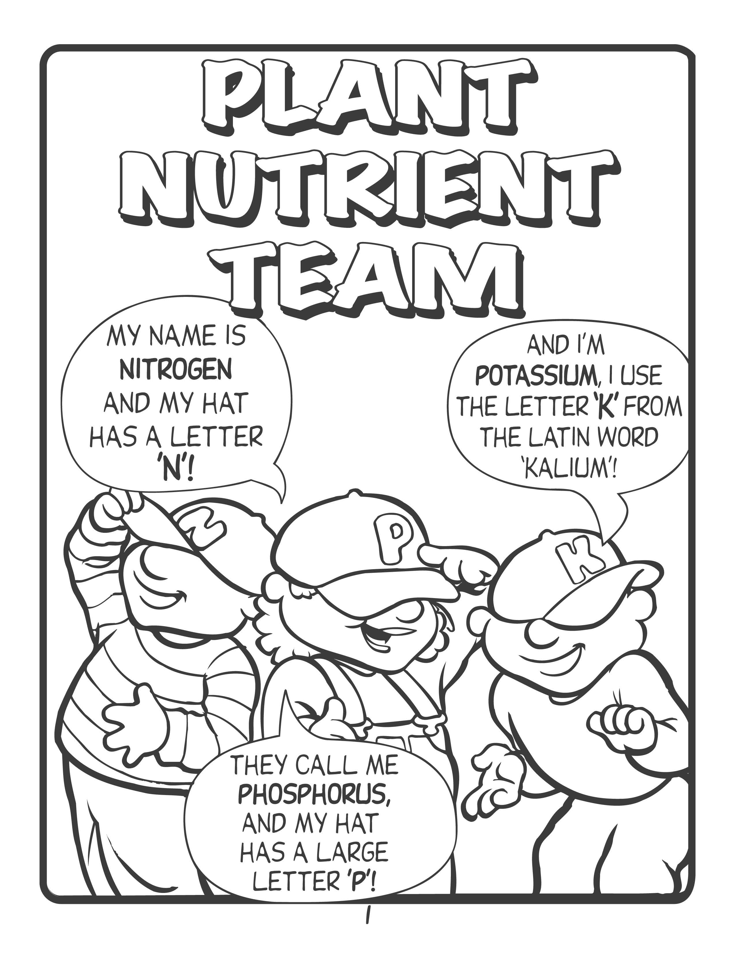 Free Downloads: Fun With the Plant Nutrient Team