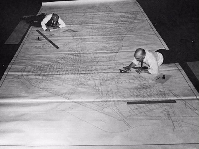 19 superbes vieilles photos qui montrent comment les gens travaillaient avant AutoCAD  ipnoze