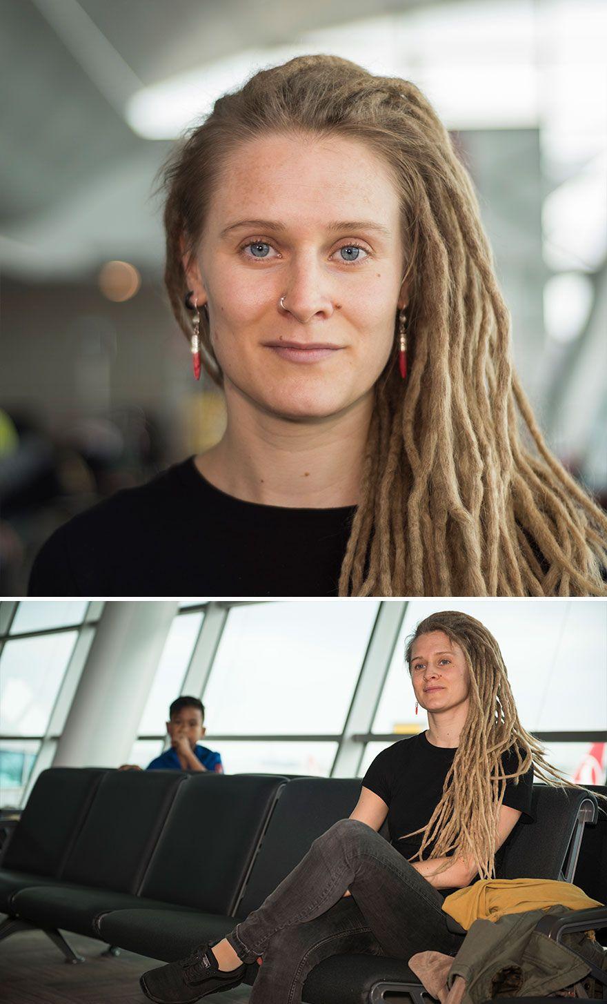 Je Travaille Laroport Et Photographie Des Personnes