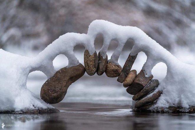 22 fois où des gens ont été si émerveillés par la neige qu'ils ont décidé de la photographier