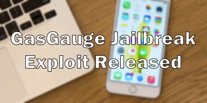 GasGauge exploit released jailbreak