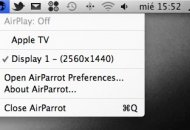 AirParrot transmite la pantalla de tu Mac a Apple TV con AirPlay