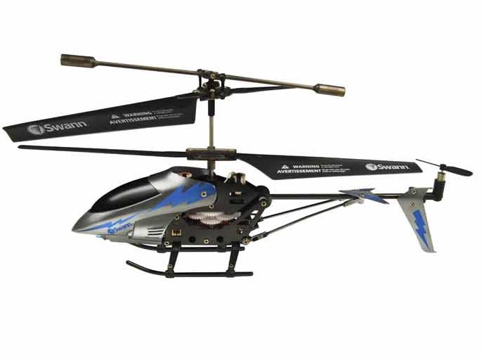 Mini helicóptero i-Fly Micro Lightning controlado desde un