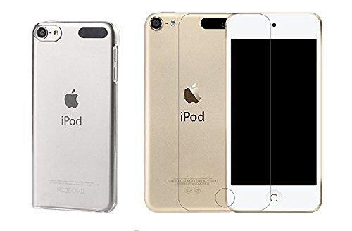 29c64db104b 1 Funda de Gel Flexible + 1 Protector de pantalla de vidrio templado para  iPod Touch 6 – NOVAGO®