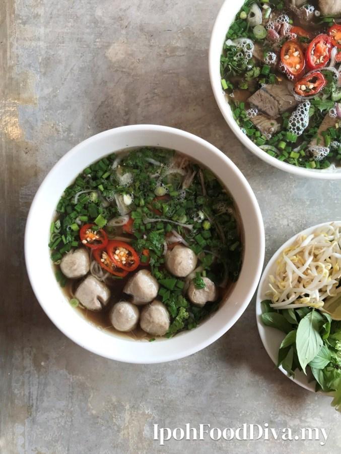 Vietnamese Street's Best Pho noodle Ipoh