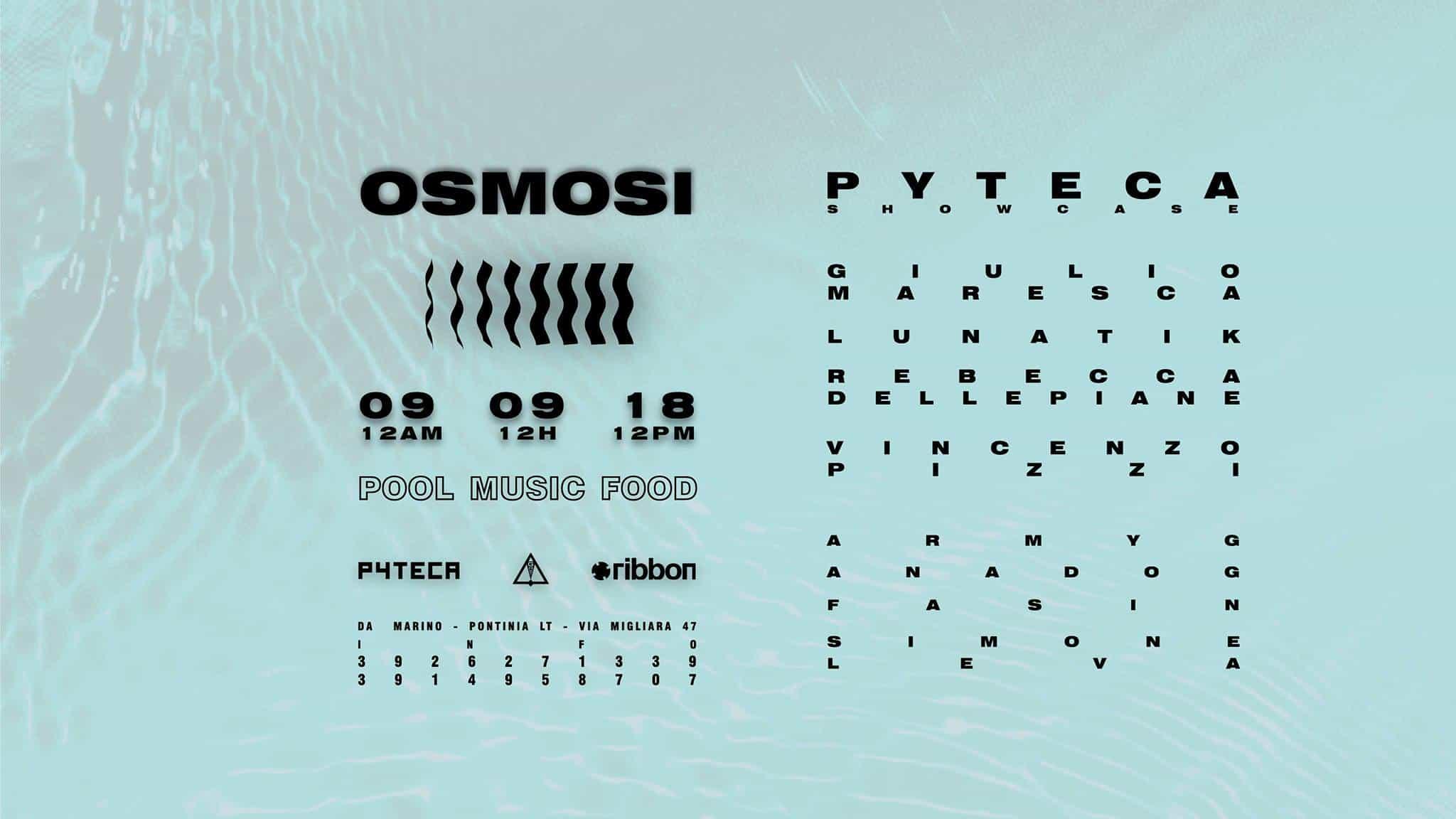 Osmosi Pyteca showcase