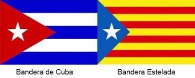 Estelada bandera de cuba