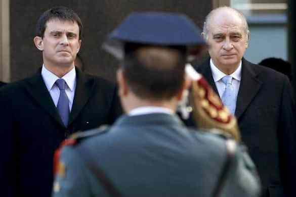Manuel Valls Ministro del Interior Francés